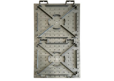 Reinforced bottom for strength and secure installations